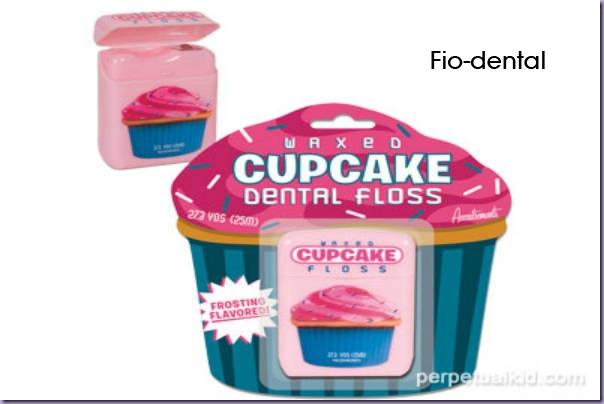 Fio-Dental-Cupcake
