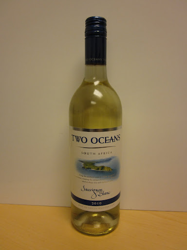 Two Oceans Sauvignon Blanc 2010, Western Cape, South Africa ($8.99)