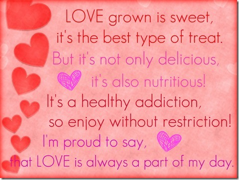 The New Healthy_Love Grown Valentine