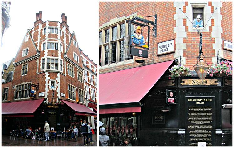 carnaby street shakespreare's head