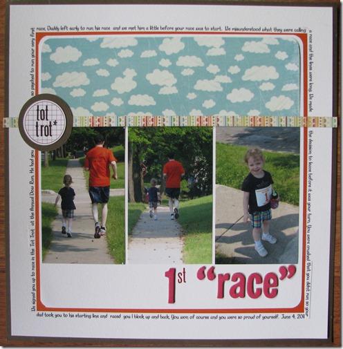 23 1st race