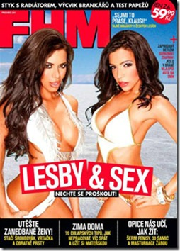 FHM Republica Tcheca Dezembro 2011