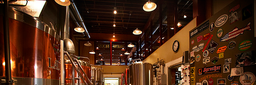 Laurelwood's 40th Street brewery location, gone but not forgotten. courtesy of Portlandbeer.org