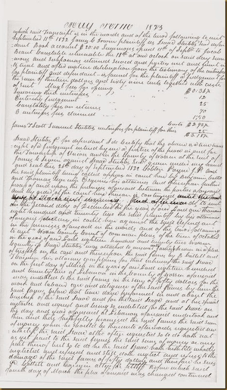 James C. Irwin sues Isaac Stubbs, Sr May Term 1823_0003