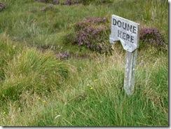 doune here