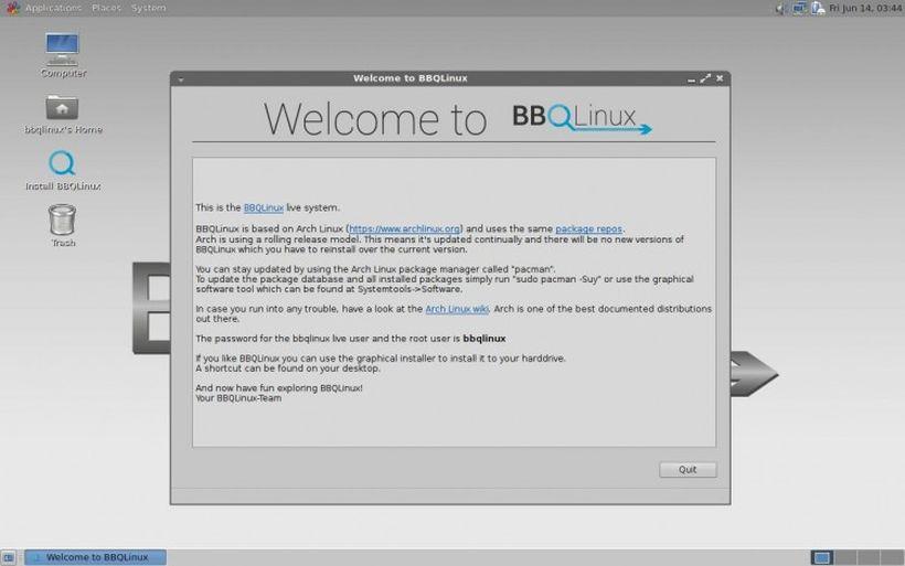 BBQLinux