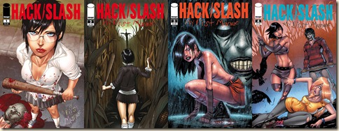 HackSlash-MyFirstManiac-Covers