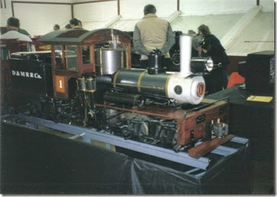06 Kitsap Live Steamers at GATS in Puyallup, Washington in November 2000
