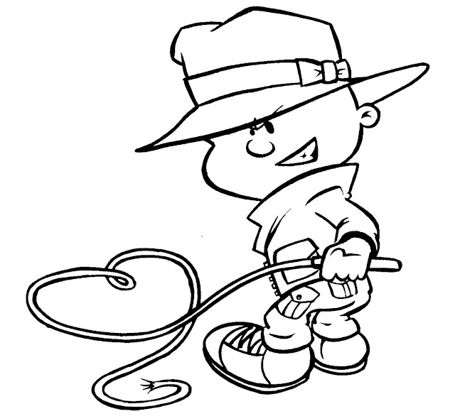 indiana jones 4 coloring pages - photo#28