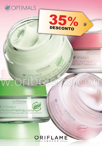 Gama Optimals – Catálogo 11/2011 da Oriflame