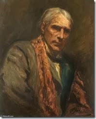 Sir Hubert Von Herkomer-Self Portrait