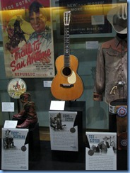9520 Nashville, Tennessee - Discover Nashville Tour - downtown Nashville - Country Music Hall of Fame and Museum - memorabilia of Patsy Montana, Gene Autry & Tex Ritter