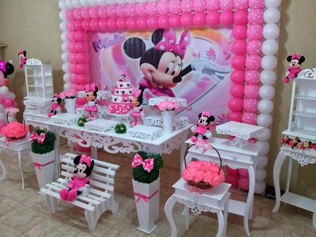 Gabinete Para Banheiro Decoracao da minnie rosa provencal -> Decoracao De Banheiro Provencal