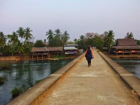 puente de Don Khon a Don Det