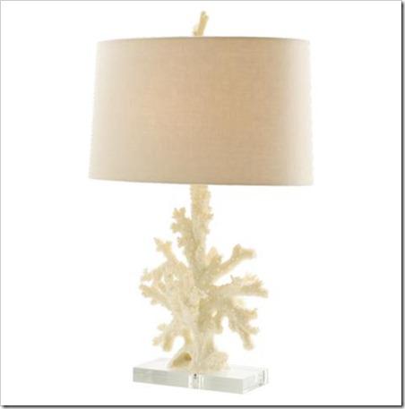 Boca coral lamp