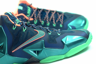 lebron11 akron vs miami 13 web white The Showcase: Nike LeBron XI Akron versus Miami. Part One.
