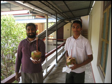 The offering of Fresh Coconuts from the Patriarchal Tree