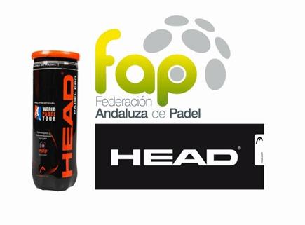 La HEAD Pádel Pro se convierte en pelota oficial de la Federación Andaluza de Pádel.