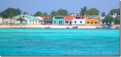 Waterfront at Gran Roque, Los Roques