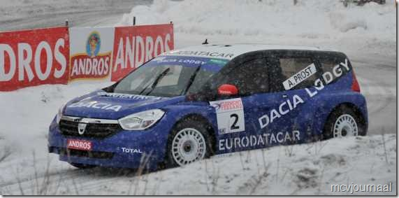 Dacia Lodgy Champion Trophee Andros 2012 01