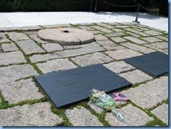 1437 Arlington, Virginia - Arlington National Cemetery - President J. F. Kennedy Gravesite