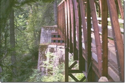 463161770 Replacement Bridge 402 on the Iron Goat Trail in 2007