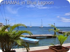 029 SHAMAL in Blue Lagoon