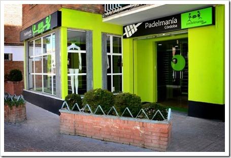 La cadena de tiendas Padelmanía abre un nuevo establecimiento en Córdoba.