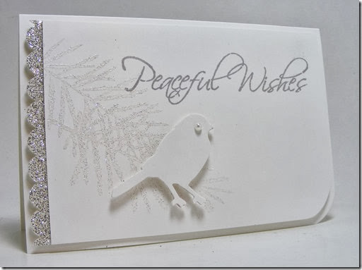 LeAnne Pugliese WeeInklings Merry Monday 78 Peaceful Wishes Stampin Up Christmas