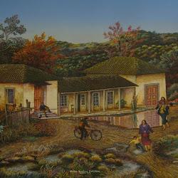 carlos Aceituno (chileno)- Pichidegua-45 x 56 cm-1997