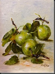 AUgust Apples 8x6