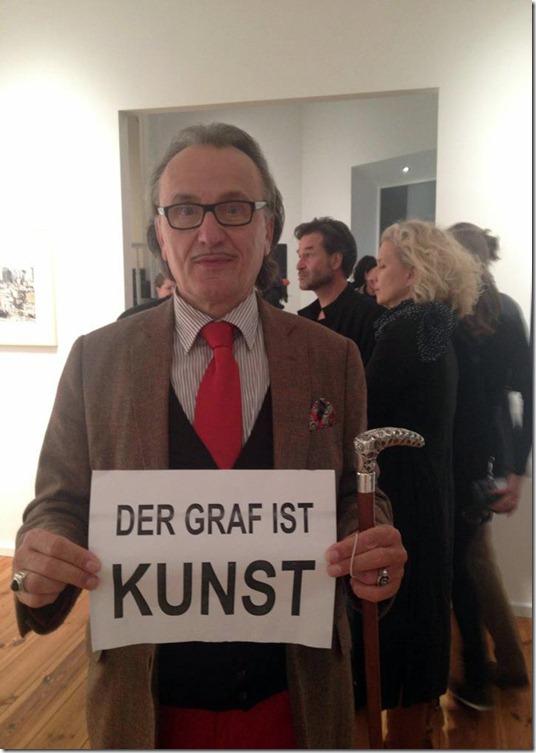 Lo Graf von Blickensdorf ist Kunst