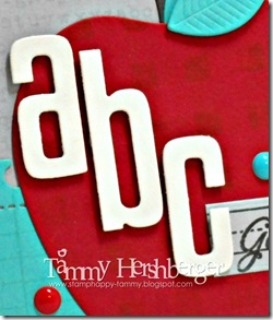 Color Throwdown #304 close-up by Tammy Hershberger