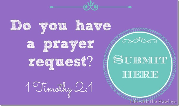 Prayer Request Banner
