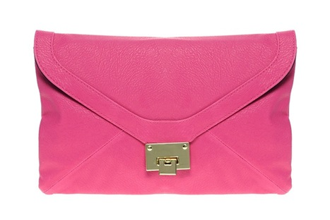 Fliplock Envelope Clutch
