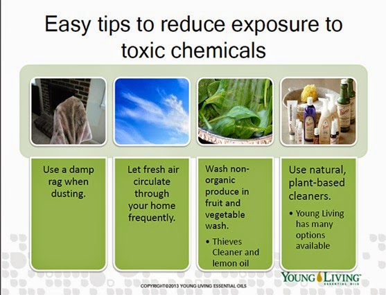 reduce exposure to toxic chemicals