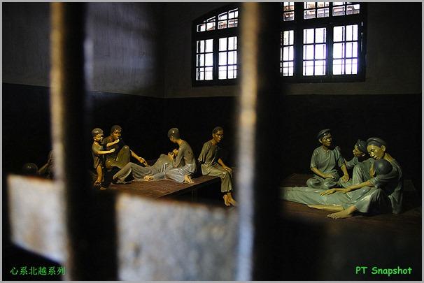 牢房的蜡像
