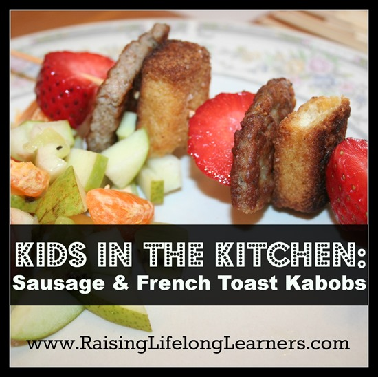 Sausage and French Toast Kabobs