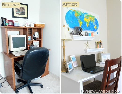 computer-desk-makeover-before-after