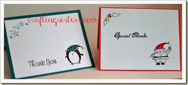Xmas Thank You Cards