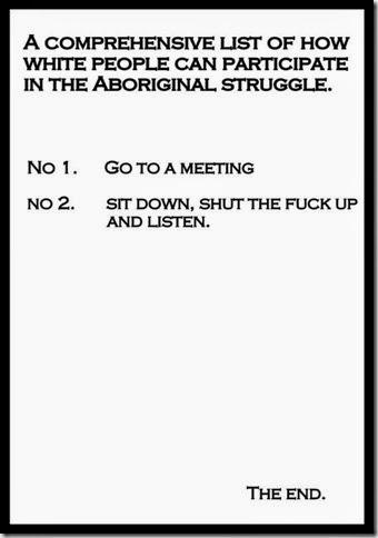 Aboriginal conversation