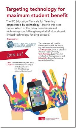 SFU Symposium Poster - Feb 9 2012