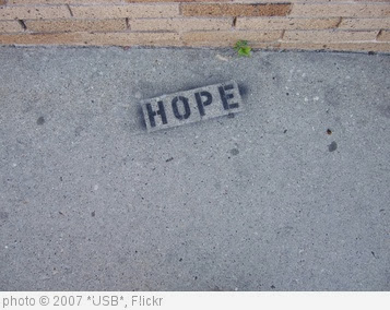 'Hope' photo (c) 2007, *USB* - license: http://creativecommons.org/licenses/by-sa/2.0/