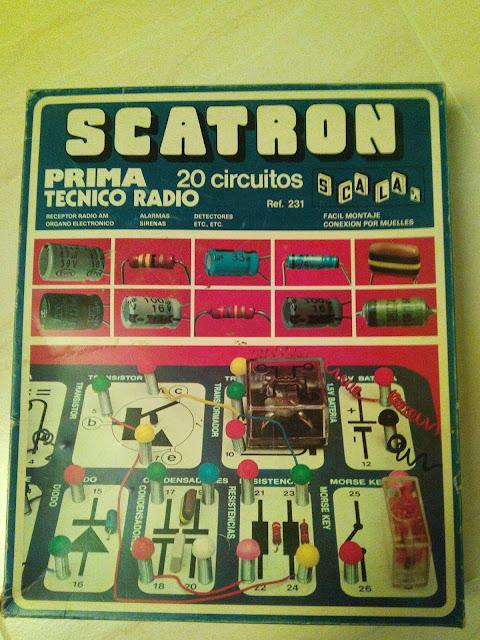 La caja del Scatron