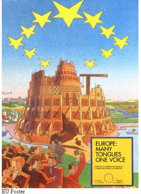 Cartaz Banido Parlamento Europeu Illuminati