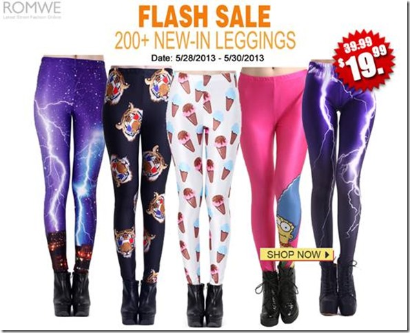 Leggings Sale 5-27-2013