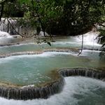 As cachoeiras de Kuang Si