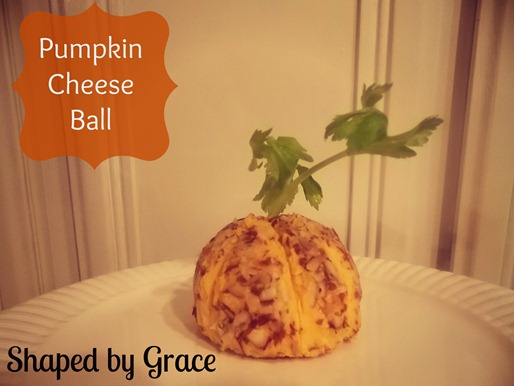 Pumpkin cheese ball blog