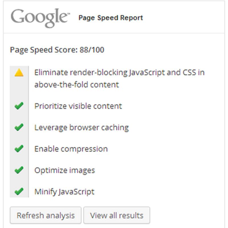 Esamina la tua scheda punteggi di AdSense: l'analisi PageSpeed Insights.