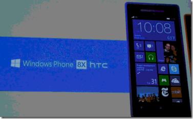HTC 8X WP8
